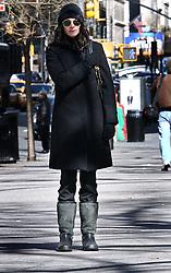March 2 2008, New York City Actress Julia Roberts took a Sunday stroll around her Gramercy Park neighborhood  (Credit Image: © Sharkpixs/ZUMA Press)
