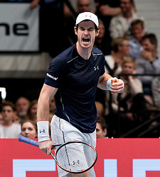 30.10.2016, Stadthalle, Wien, AUT, ATP Tour, Erste Bank Open, Finale, im Bild Andy Murray (GBR) // Andy Murray of Great Britain during the final match of Erste Bank Open of ATP Tour at the Stadthalle in Vienna, Austria on 2016/10/30. EXPA Pictures © 2016, PhotoCredit: EXPA/ Sebastian Pucher