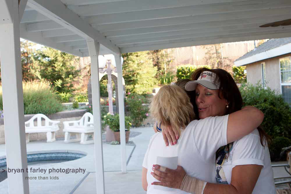 Group and informal photos from the two day photo shoot with the Central California grief support group Mother of an Angel Friendship Network