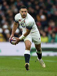 England's Ben Te'o during the NatWest 6 Nations match at Twickenham Stadium, London. PRESS ASSOCIATION Photo. Picture date: Saturday March 17, 2018. See PA story RUGBYU England. Photo credit should read: Paul Harding/PA Wire. RESTRICTIONS: Editorial use only, No commercial use without prior permission.