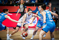 Cecilia Zandalasini of Italy during basketball match between Women National teams of Italy and Slovenia in Group phase of Women's Eurobasket 2019, on June 30, 2019 in Sports Center Cair, Nis, Serbia. Photo by Vid Ponikvar / Sportida