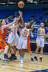 29 December 2015:  Rock Island Rocks and Normal Community Ironman.  Officials for the game - Rich Cacciatori, John Griffard, Chuck Goelitz.  State Farm Holiday Classic Coed Basketball Tournament at US Cellular Coliseum, Bloomington Illinois- Day 2 Large School Girls