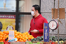 Daily Life In Coronavirus Time - NYC 22 April 2020