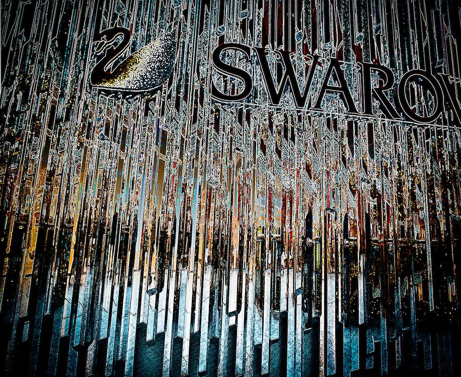 Crystal wall