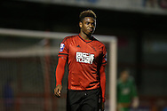 Nathaniel Oseni, West Bromwich Albion defender during the Barclays U21 Premier League match between Brighton U21 and U21 West Bromwich Albion at the Checkatrade.com Stadium, Crawley, England on 25 January 2016.