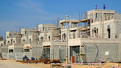 Construction of new luxury villas in Dubai United Arab Emirates