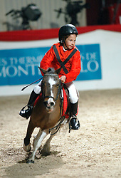 Kinderwedstrijd<br /> CSI-A Monaco 2002<br /> Photo © Dirk Caremans