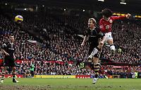 Photo: Paul Thomas.<br /> Manchester United v Charlton Athletic. The Barclays Premiership. 10/02/2007.<br /> <br /> Ji-sung Park (R) scores his goal for Man Utd.