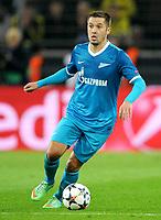 Fotball<br /> Tyskland<br /> 19.03.2014<br /> Foto: Witters/Digitalsport<br /> NORWAY ONLY<br /> <br /> Viktor Fayzulin (Zenit)<br /> Fussball, Champions League, Achtelfinale Rueckspiel, Borussia Dortmund - Zenit St. Petersburg 1:2