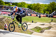 #33 (DAUDET Joris) FRA at Round 4 of the 2019 UCI BMX Supercross World Cup in Papendal, The Netherlands