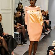 NLD/Amsterdam/20150306 - Modeshow Mart Visser 2015 Spring Summer, Contemporary Contrast, Giovanca Ostiana