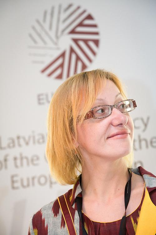 04 June 2015 - Belgium - Brussels - European Development Days - EDD - Gender - Empowering women in Central Asia - Stories from the field - Iluta Lace<br /> Director, Resource Centre for Women - Marta © European Union