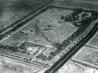 1934 Aerial of the La Brea Tar Pits