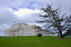 Auckland War Memorial é o mais antigo museu da Nova Zelândia. Situado no Domain Park, no centro de Auckland, o local guarda não apenas memórias de guerra - como o próprio nome diz - mas também a cultura dos Maoris, primeiros habitantes do país. FOTO: Lucas Uebel/Preview.com
