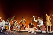 Congonhas_MG, Brasil. ..Detalhe da escultura Passos da Crucificacao, do  mestre Aleijadinho (Antonio Francisco Lisboa) no  Santuario de Bom Jesus do Matosinhos...Detail of the sculpture Station of Crucification, of mester Aleijadinho (Antonio Francisco Lisboa) in the Bom Jesus do Matosinhos Sanctuary...Foto: LEO DRUMOND / NITRO..