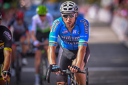 July 28, 2018 - Les Bons Villers, BELGIUM - Lithuanian Aidis Kruopis of Verandas Willems - Crelan arrives in the first stage of the Tour De Wallonie cycling race, 193,4 km from La Louviere to Les Bons Villers, on Saturday 28 July 2018. BELGA PHOTO LUC CLAESSEN (Credit Image: © Luc Claessen/Belga via ZUMA Press)