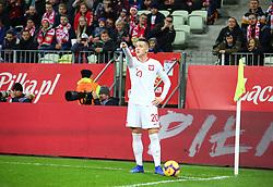 November 15, 2018 - Gdansk, Pomorze, Poland - Piotr Zielinski (20) during the international friendly soccer match between Poland and Czech Republic at Energa Stadium in Gdansk, Poland on 15 November 2018  (Credit Image: © Mateusz Wlodarczyk/NurPhoto via ZUMA Press)