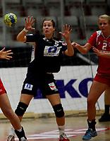 Håndball , juniorlandslaget LK 90 - Rekrutt<br /> treningskamp<br /> 22 November 2008<br /> Gjøvik Fjellhall <br /> Foto:Dagfinn Limoseth ,  Digitalsport<br /> <br /> Norge Rekrutt v  LKJ  (LK90)<br /> Ane Brustuen og Christine Homme
