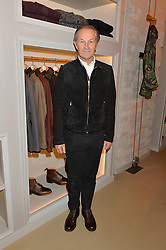 NICK ASHLEY at the launch of the Private White VC flagship store, 73 Duke Street, London on 11th December 2014.