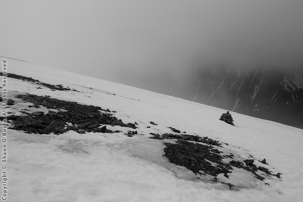 Foxfonna Glacier hike Trek on the Foxfonna Glacier