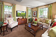 Interior Living Room Stock Photo