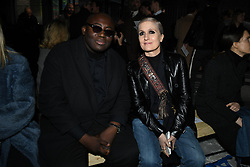 and Stylist Maria Grazia Chiuri attend the Giambattista Valli Ready to wear Fall/Winter 2018-19 at Palais de Tokyo in Paris, France on March 5, 2018. Photo by Laurent Zabulon/ABACAPRESS.COM