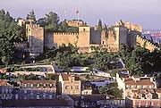 PORTUGAL, LISBON Castelo de Sao Jorge (the Moorish fortress)