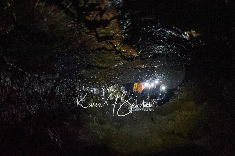Leidarendi Lava Cave in  Iceland. ©2019 Karen Bobotas Photographer