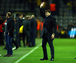 November 21, 2017 - Dortmund, Germany - Tottenham Hotspur manager Mauricio Pochettino .after UEFA Champion League Group H Borussia Dortmund between Tottenham Hotspur played at Westfalenstadion, Dortmund, Germany 21 Nov 2017  (Credit Image: © Kieran Galvin/NurPhoto via ZUMA Press)