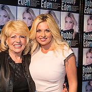 NLD/Amsterdam/20140325 - Boekpresentatie Bobbi Eden, Bobbi en haar moeder