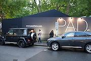 The opening of Pad. Berkeley Sq. London. 14 October 2013