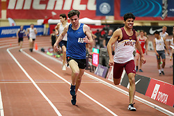Don Kirby Invitational Indoor Track & Field<br /> Albuquerque, NM, Feb 14, 2020<br /> mens mile, heat 2