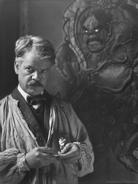 Sidney Herbert Sime, designer and illustrator, 1912