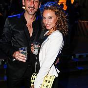 NLD/Amsterdam/20130418- Uitreiking 3FM Awards 2013, danny Vera en partner Escha Tanihatu