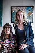 Iris Hannema en Carolijn Visser