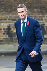 London, November 01 2017. Chief Whip (Parliamentary Secretary to the Treasury) Gavin Williamson is seen in Downing street following Prime Minister's Questions in the House of Commons. © Paul Davey