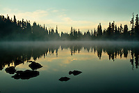 Sunrise over Russell Lake