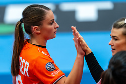 Larissa Nusser of Netherlands after the Women's EHF Euro 2020 match between Netherlands and Norway at Sydbank Arena on december 10, 2020 in Kolding, Denmark (Photo by RHF Agency/Ronald Hoogendoorn)