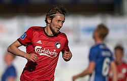 Rasmus Falk (FC København) klar til jubel efter scoringen til 0-1 under kampen i 3F Superligaen mellem Lyngby Boldklub og FC København den 1. juni 2020 på Lyngby Stadion (Foto: Claus Birch).