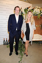 TOM & SARA PARKER BOWLES at the Quintessentailly Summer Party at the Phillips de Pury Gallery, 9 Howick Place, London on 9th July 2008.<br />