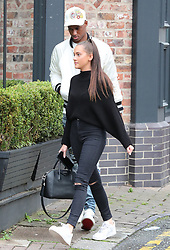 Manchester United's Marcus Rashford and girlfriend Lucia Loi head for lunch in Cheshire on Sunday afternoon