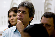 Jeceaba_MG, Brasil...Rosto do prefeito de Jeceaba...A face of Jeceaba mayor...Foto: BRUNO MAGALHAES /  NITRO