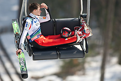 20.03.2010, Planica, Kranjska Gora, SLO, FIS SKI Flying World Championships 2010, Flying Hill Individual 3rd Round, im Bild Robert Kranjec, ( SLO, #25 ), EXPA Pictures © 2010, PhotoCredit: EXPA/ J. Groder / SPORTIDA PHOTO AGENCY