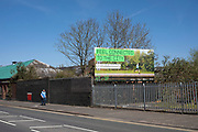 Promotional poster to feel connected to your city in Ladywood under lockdown on 15th April 2020 in Birmingham, England, United Kingdom. Coronavirus or Covid-19 is a new respiratory illness that has not previously been seen in humans. While much or Europe has been placed into lockdown, the UK government has put in place more stringent rules as part of their long term strategy, and in particular social distancing.