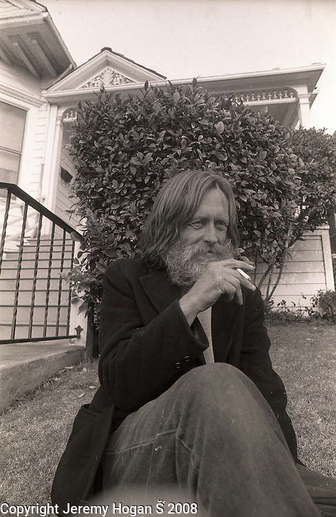 Skip Spence of Moby Grape is photographed in early March 1994 near where he was living in a half way house.