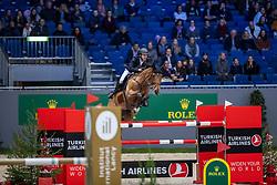 DEVOS Pieter (BEL), Espoir  <br /> Genf - CHI Rolex Grand Slam 2018<br /> Qualifikation für den Rolex Grand Prix Stechen<br /> 06. Dezember 2018<br /> © www.sportfotos-lafrentz.de/Stefan Lafrentz