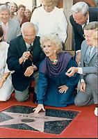 1984 Eva Gabor's Walk of Fame ceremony