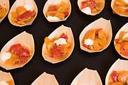PEPPER (SWEET), Capsicum annuum<br />Showcase: 'Picnic' F1<br />Breeder: Jodi Lew-Smith, High Mowing Seeds<br />Chef: Gabe Rowen, Biwa / Norenko / Parasol<br />Dish: Picnic Pepper Curry Rice