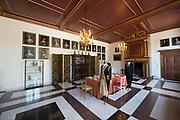 Openstelling Paleis Noordeinde en het Koninklijk Staldepartement<br /> <br /> Op de foto:  Pieter Postkamer