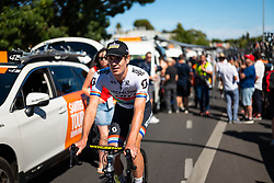January 20, 2019 - Adelaide, South Australia, Australia - Daryl Impey, Team Mitchelton Scott start of, Stage 6 of the Tour Down Under, Australia on the 20 of January 2019  (Credit Image: © Gary Francis/ZUMA Wire)